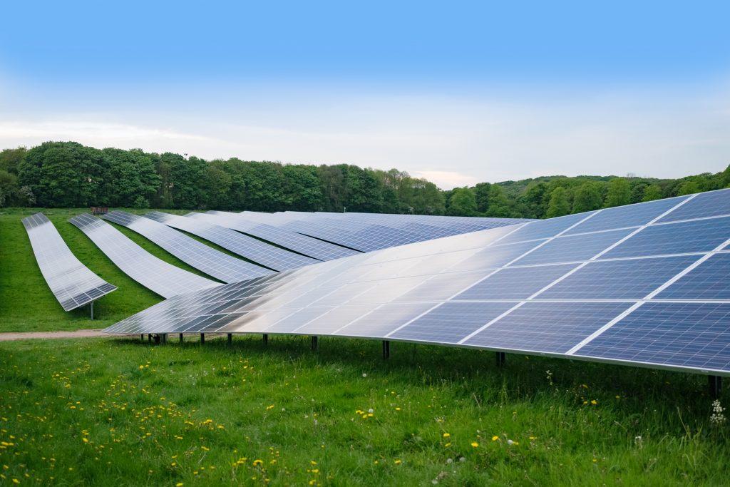 Photovoltaic panels - Solar Farm - Northmore Gordon