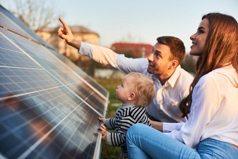 Residential solar panels - Northmore Gordon